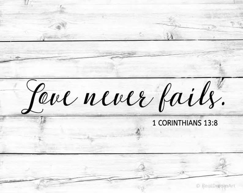 Download Love Never Fails Svg Scripture Svg Bible Verse Svg Bible ...