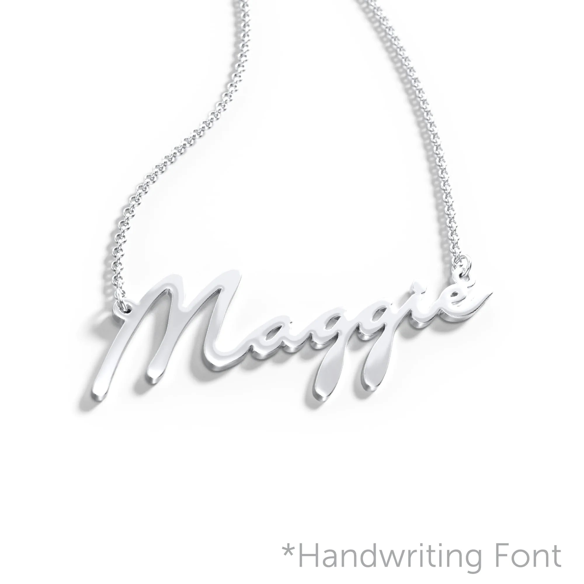 10K & 14K Solid Gold Never Plated Personalized Name image 4