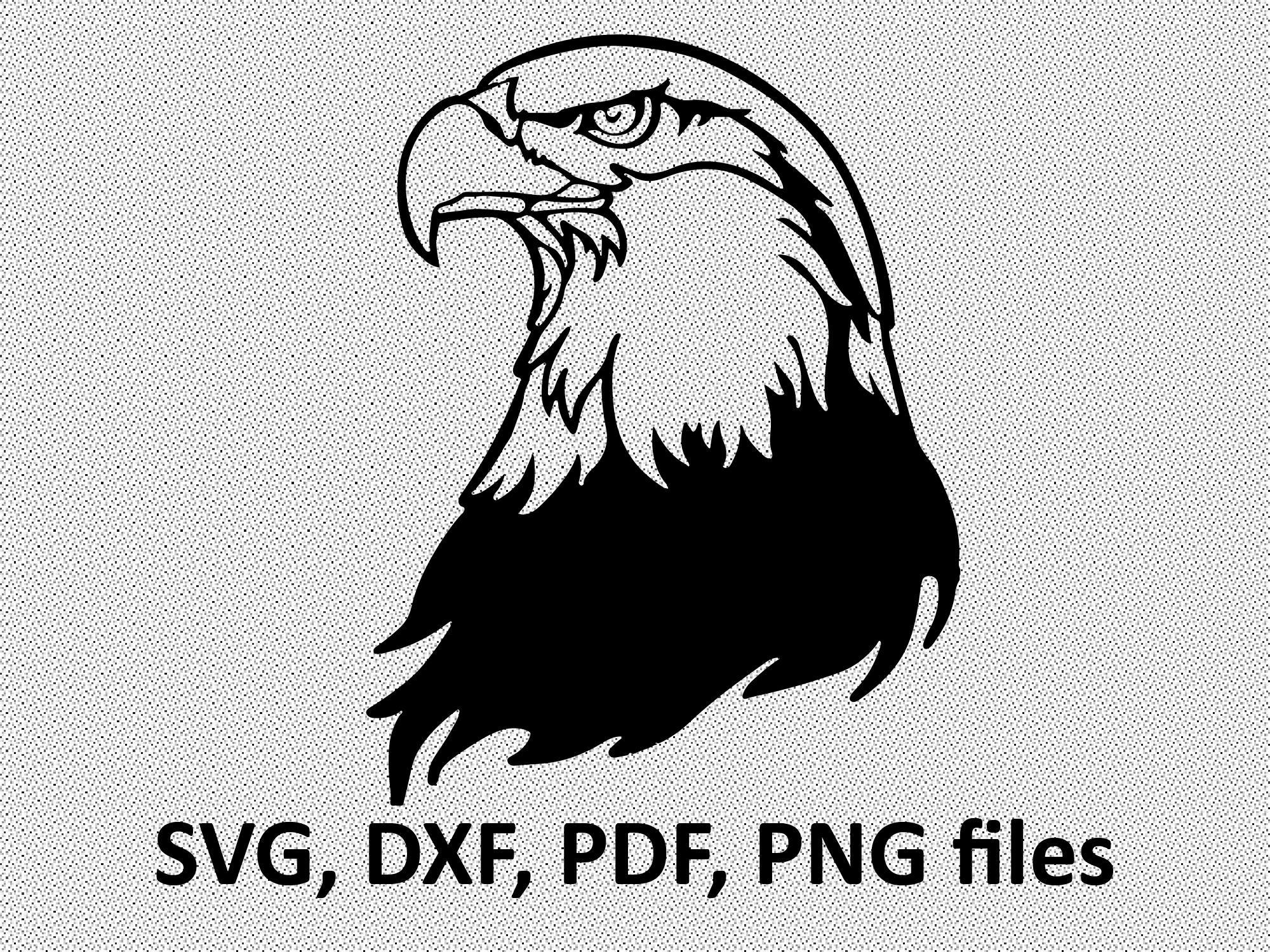 Eagle Svg Eagle Dxf Eagle Clipart Eagle Files