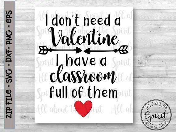 Download SVG Teacher Valentines day svg digital file Cricut svg ...