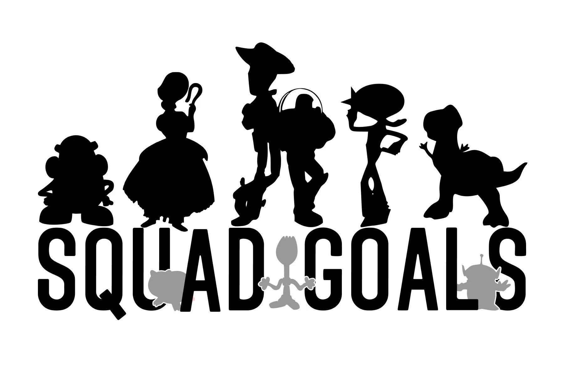 Toy Story 4 Svg Studio 3 Toy Story Squad Goals Svg
