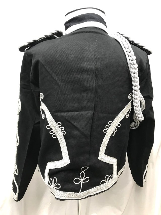 Steampunk Military Officers Jackets by Steam Era Productions. Black Steampunk Ceremonial officers Hussar Jacket.