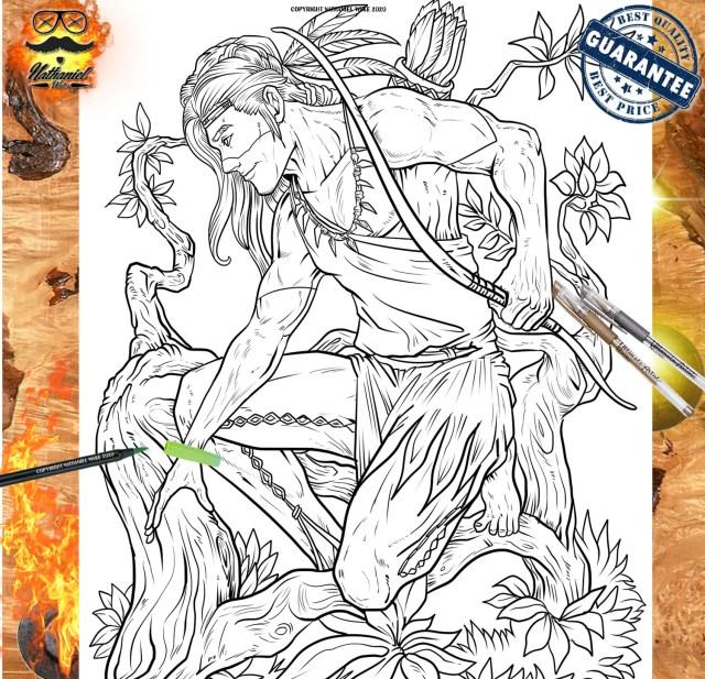 8 Pack of Men Adult Coloring Pages Bundle 8 Cowboy  Etsy