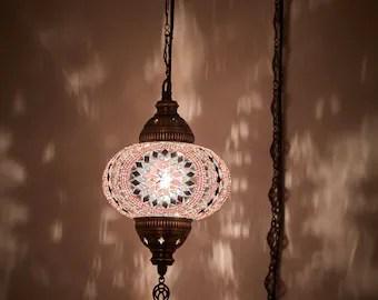 turkish hanging lamp etsy