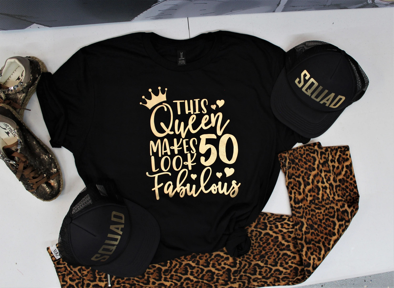 50th Birthday Shirt 50th Birthday Gifts For Women T Shirt Etsy