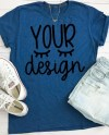 Blue T Shirt Recommended By Shorts And Lemons For Svg Files Etsy