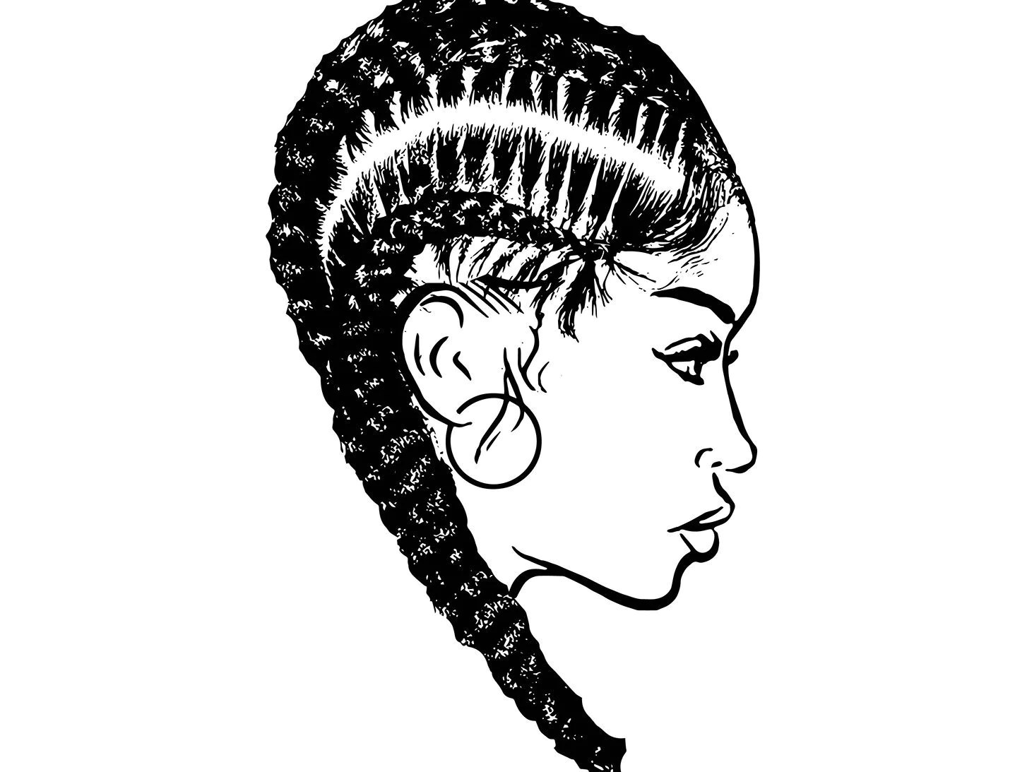 Afro Woman Svg Dreads Nubian Princess Queen Hair Beautiful