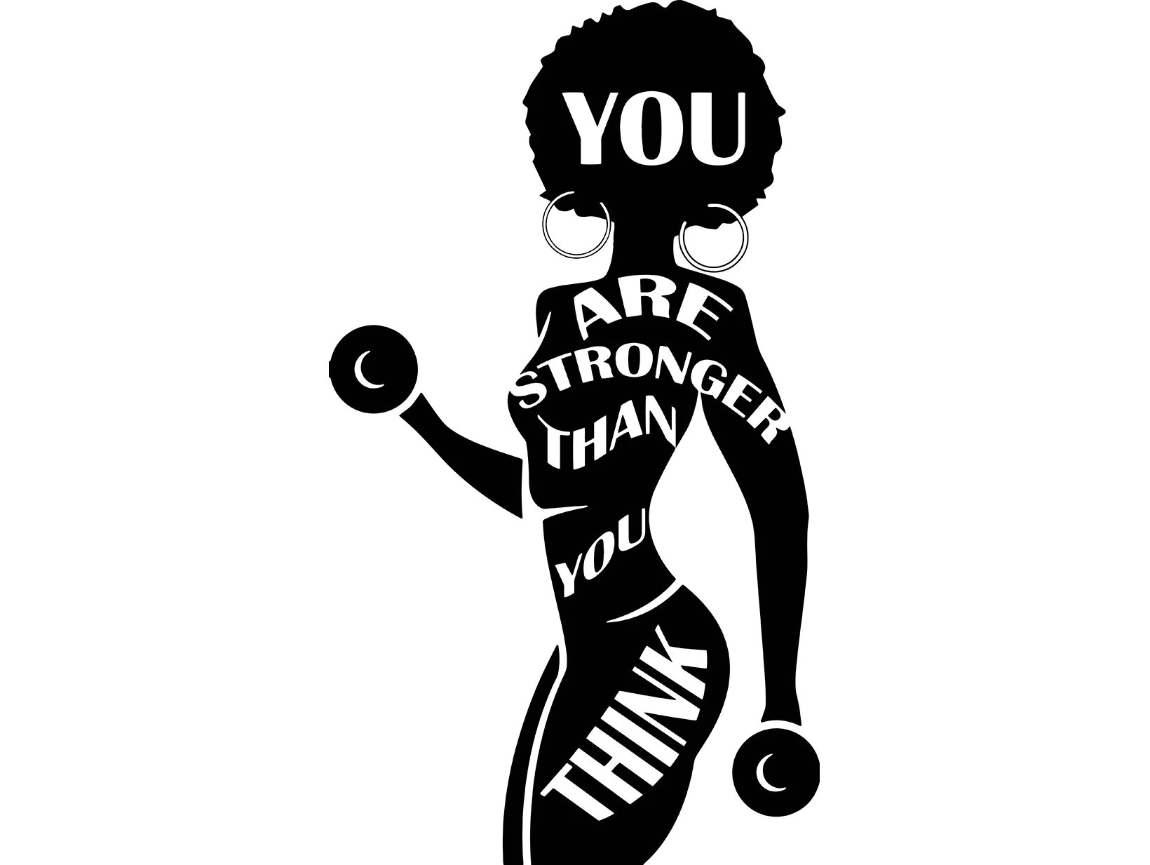 Strong Afro Womanquotes Fitness Nubian Queen Afro Hair