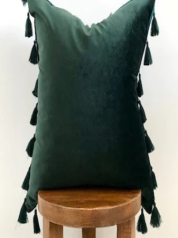 emerald green pillow etsy