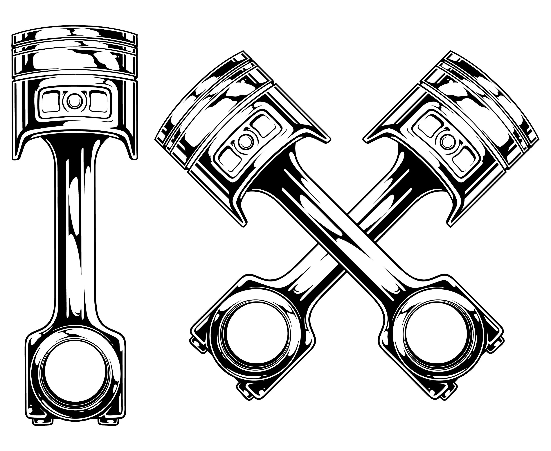Piston Svg Auto Mechanic Svg Engine Svg Garage Svg