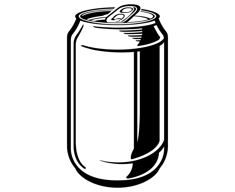 Beer Soda Aluminum Can