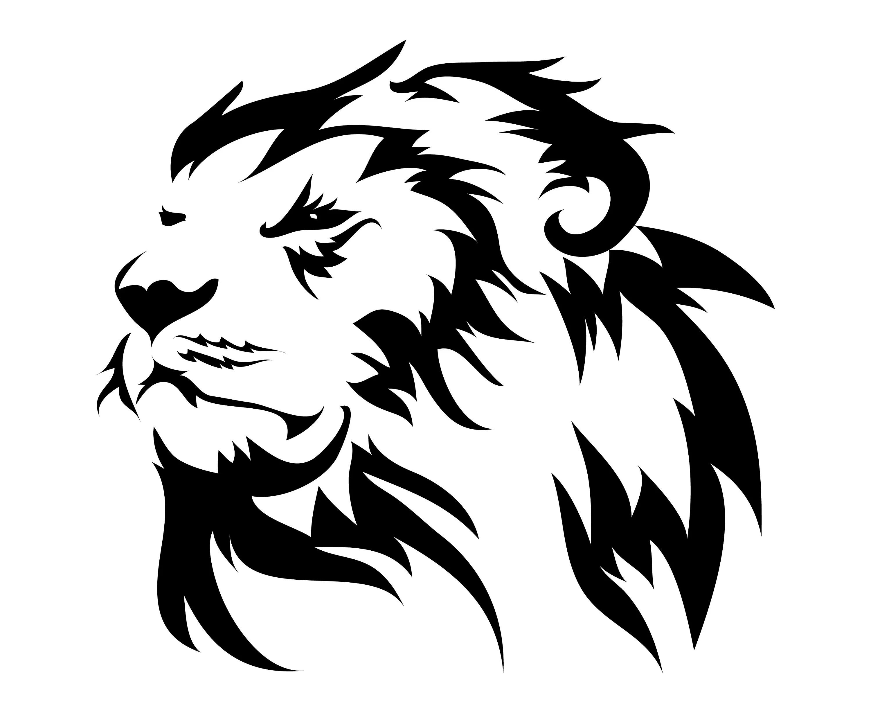 Lion Head Face