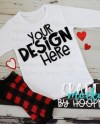 T Shirt Mock Up Image Girly Fluff Collection Psd Smart Etsy