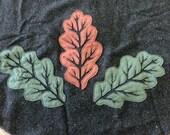 Oak Leaf Oversize Cowl (Wool)