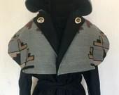 Desert Bloom Capote Coat