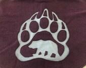 Bear Paw Oversize Cowl (Wool)