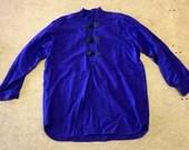 Wool Shirt (Purple)