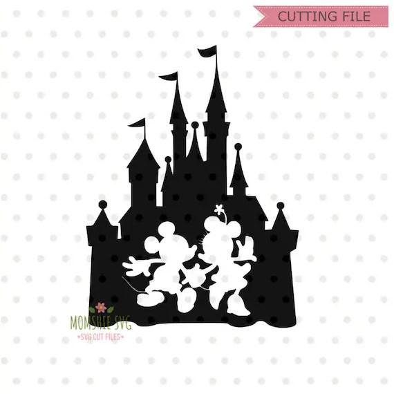Chateau Disney Svg Svg De Disney Chateau De Disney Avec Etsy