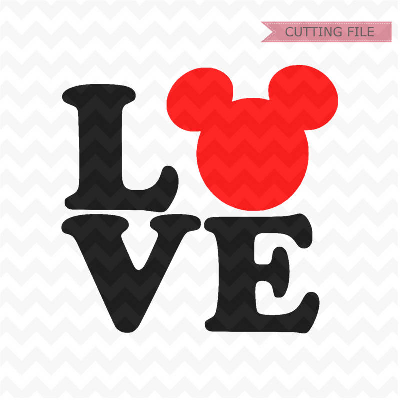 Download Disney Love SVG, Mickey Mouse love svg love svg and png ...