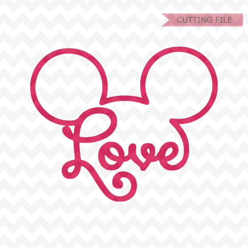Download Mickey Mouse cabeza SVG mickey head love svg y png archivo ...