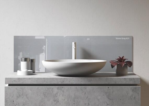 sink backsplash diy bathroom backsplash kitchen sink etsy