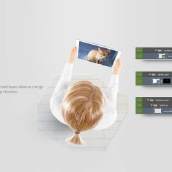 Tablet Mockup Laptop Template Gadget Mock Up Etsy