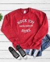 18000 Gildan Cherry Red Styled Casual Mock Up Styled Etsy