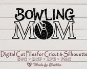Bowling Mom svg, Mom svg, Bowling Ball SVG, bowling decal, Mother's Day, Digital download  Mom il 170x135