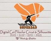 Super Dad svg, Super Dad cape, Father svg, Dad svg, Daddy svg, Basketball Dad svg, Sports svg, Cape svg, Sports Parent, Digital SVG File  Sports il 170x135