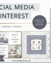 Social Media Marketing Templates For Canva Instagram Etsy