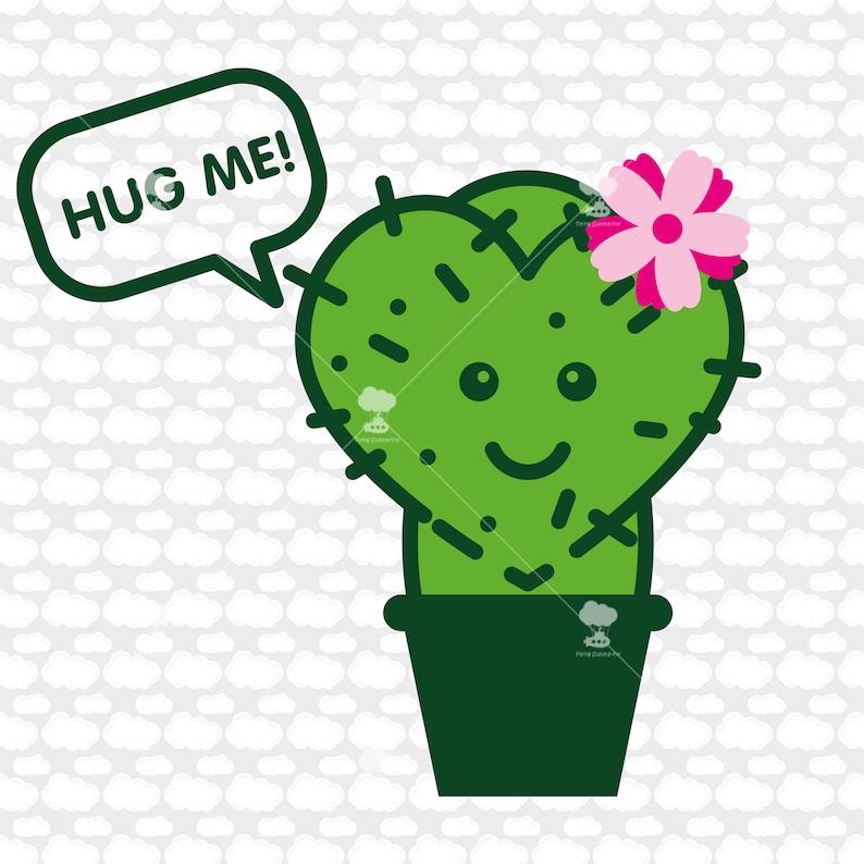 Download Cactus SVG DXF Hug me cactus clipart succulent svg cactus ...