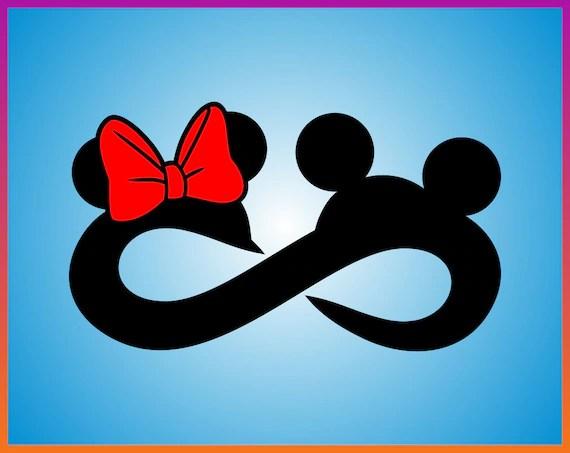 Download Love Infinity Svg Disney Infinity Symbol Vector Cricut ...