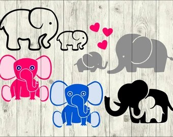 Download Baby elephant svg   Etsy