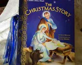 Christmas Junk Journal - Upcycled Little Golden Book Junk Journal – The Christmas Story