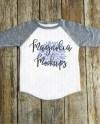 Gray And White Baseball Raglan Shirt Grey Toddler Mockup Etsy