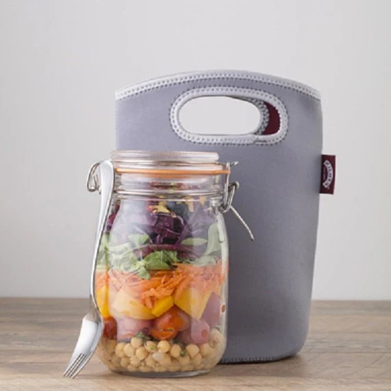 Lunchbox in a shabby chic...