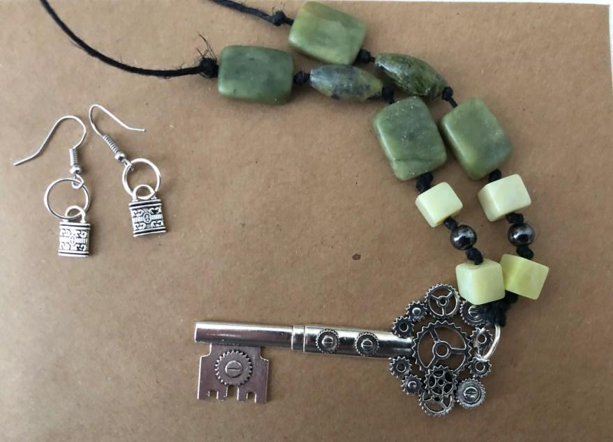 Key, Lock and Stone Set...
