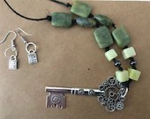 Key, Lock and Stone Set