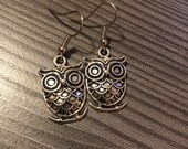 Wise Owl Earrings