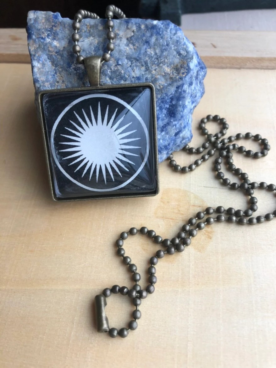 Sacred Sun Necklace