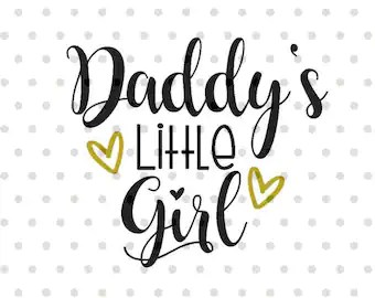 Download Father daughter svg | Etsy