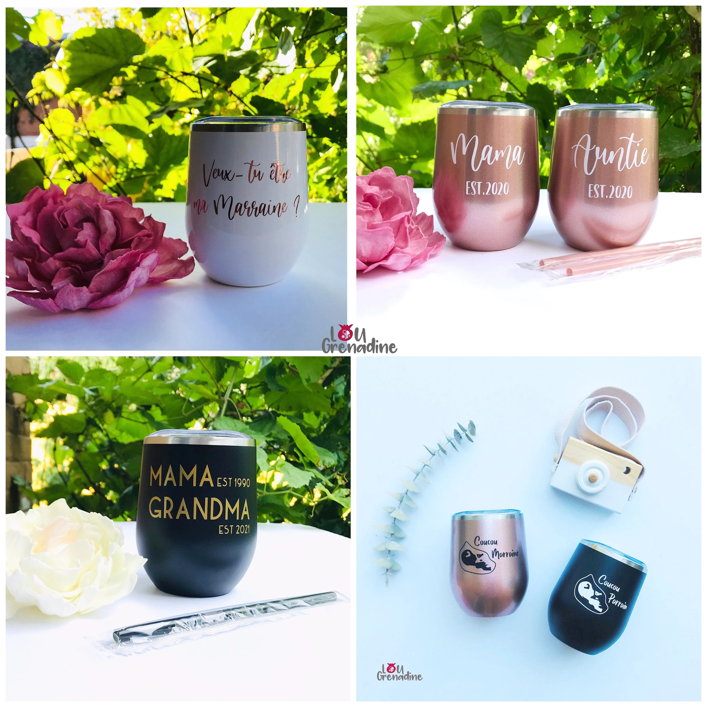 Personalized wine tumblers bachelorette party Bridesmaid image 3