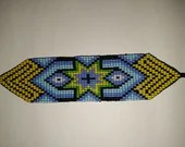 Star Pattern Beaded Wrist Band from The Amazon