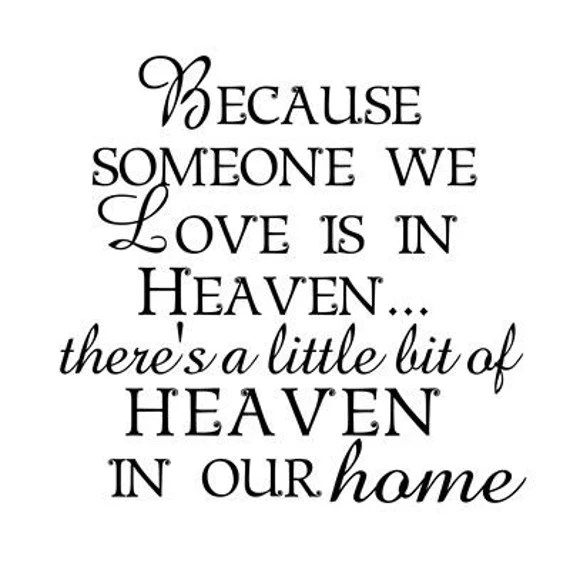 Download Because Someone In Heaven We Love SVG File | Etsy