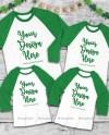 Matching Family St Patrick S Raglan Mockup Unisex Women Etsy
