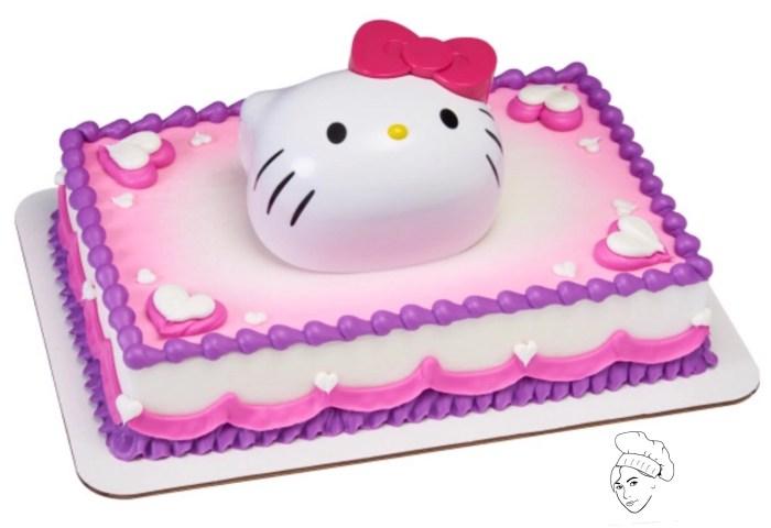 Hello Kitty Cake Topper Hello Kitty Birthday Hello Kitty Etsy