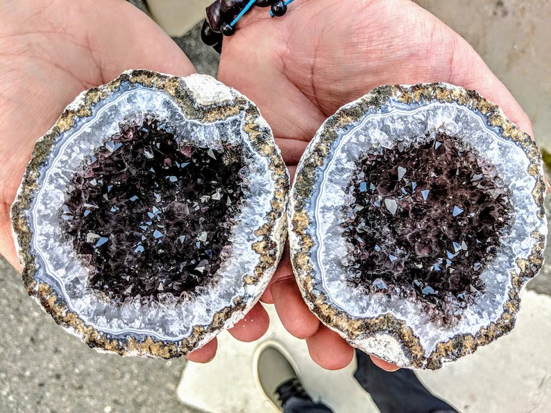 Whole Mexican geodes unopened from 3 different mines image 7
