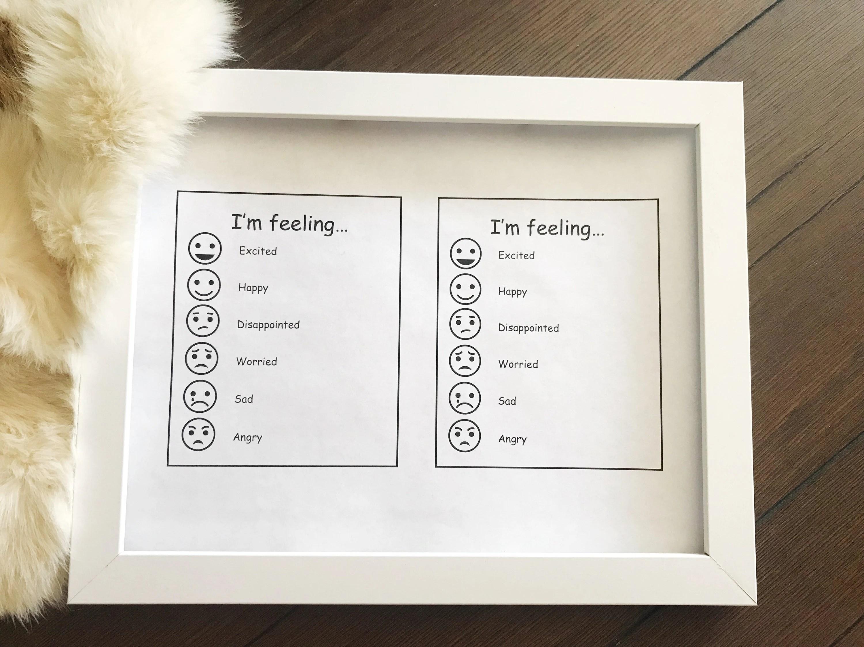 Emotions Worksheet Kids Childrens Emotion Worksheet