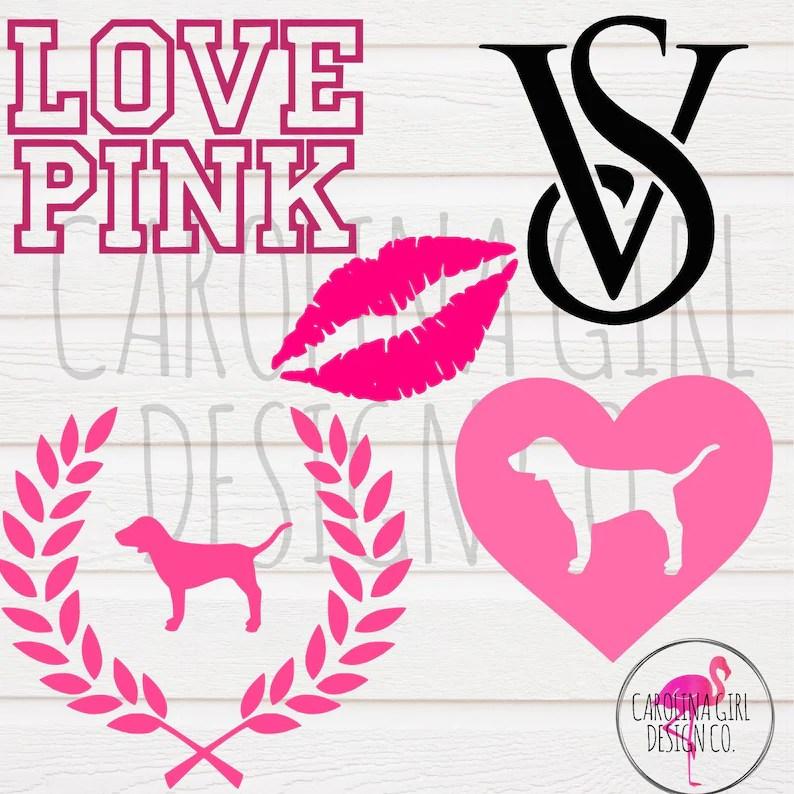 Download LOVE PINK svg file Love Pink Dog svg Pink Nation cut file ...
