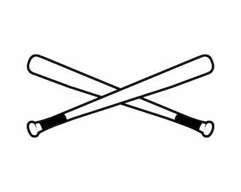 Download Baseball bats vector | Etsy